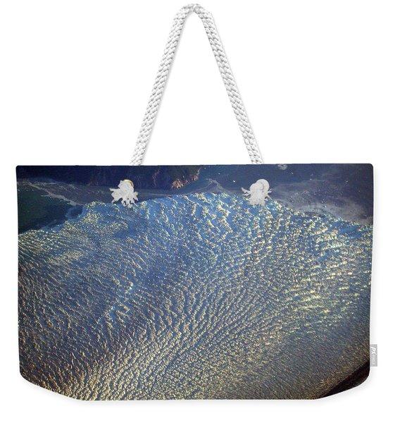 Glacier Texture Weekender Tote Bag