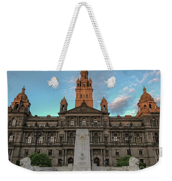 Glasgow Cenotaph Weekender Tote Bag