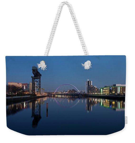 Glasgow Relfected Weekender Tote Bag