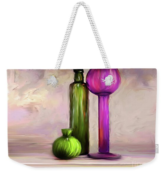 Glass On Glass Weekender Tote Bag
