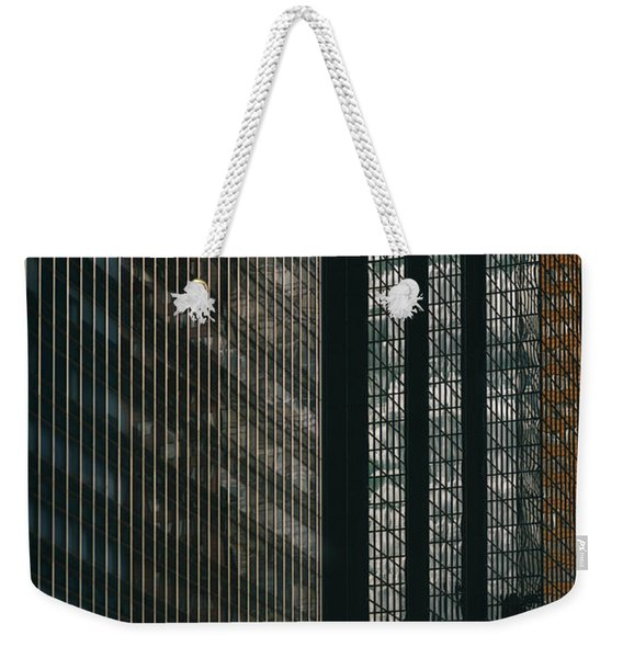 Glass Walls Weekender Tote Bag