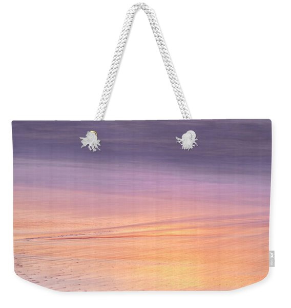 Weekender Tote Bag featuring the photograph Gleneden Beach Sunset by Whitney Goodey