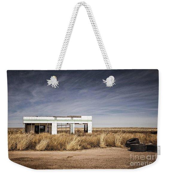 Glenrio Abandoned Gas Station  Weekender Tote Bag