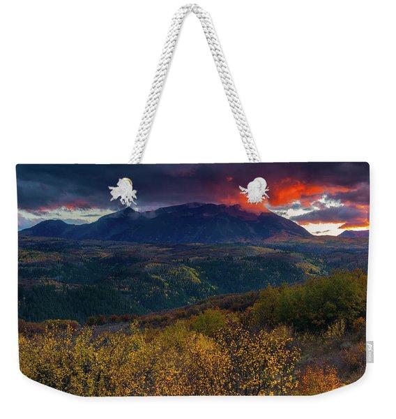Glimpse Of Heaven Weekender Tote Bag