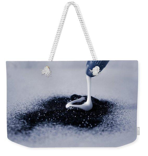 Glitter And Glue Weekender Tote Bag