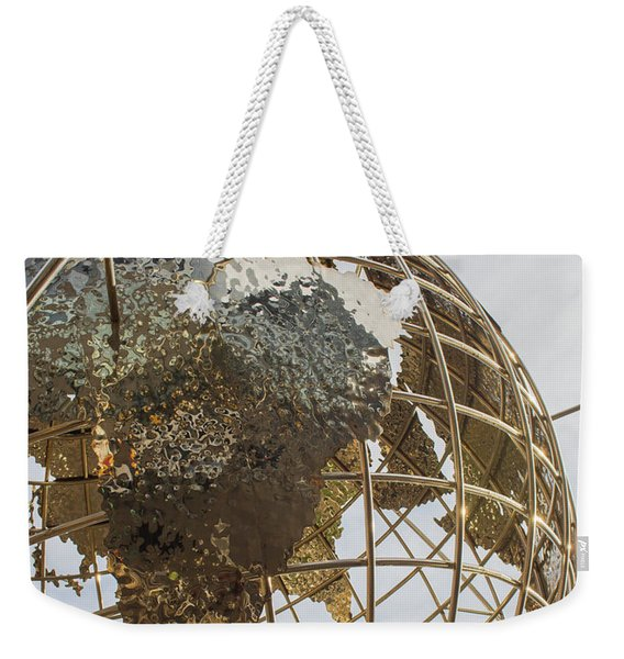 Globe 1 Weekender Tote Bag