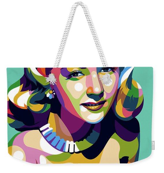 Gloria Graham Weekender Tote Bag