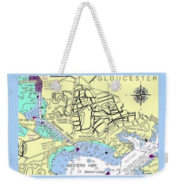 Gloucester, Ma Weekender Tote Bag