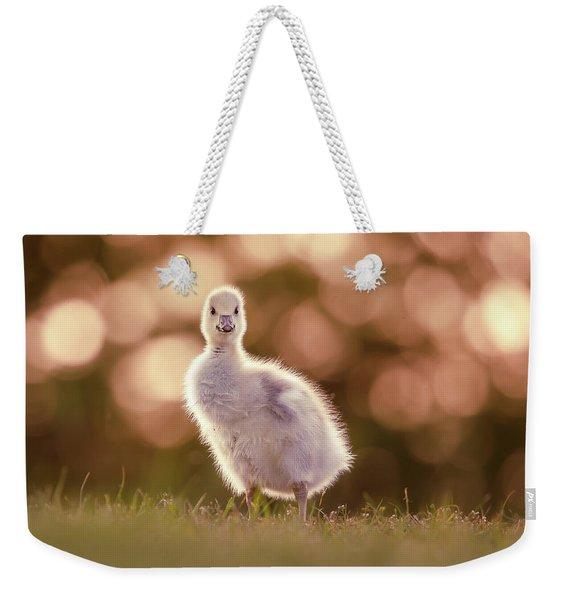 Glosling - The Glowing Gosling Weekender Tote Bag