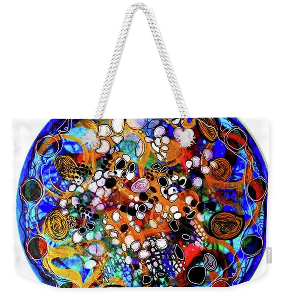 Go With The Flow 1 Weekender Tote Bag