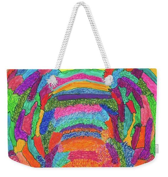 God Is Color - The Original Weekender Tote Bag