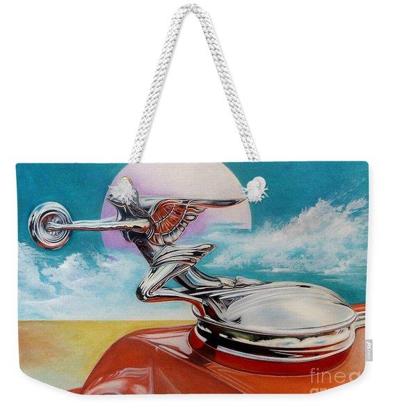 Goddess Of Speed Weekender Tote Bag