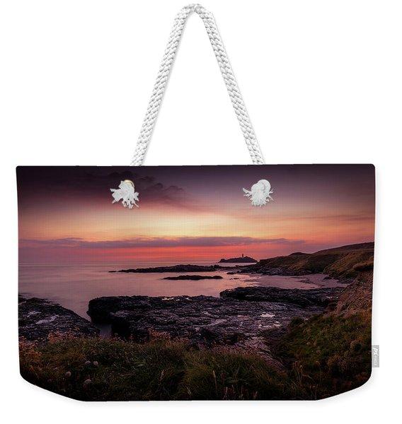 Godrevy Sunset - Cornwall Weekender Tote Bag