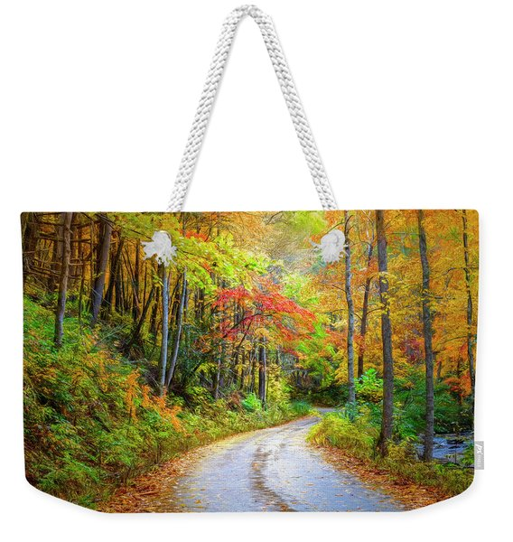 Going For The Gold Painting Weekender Tote Bag