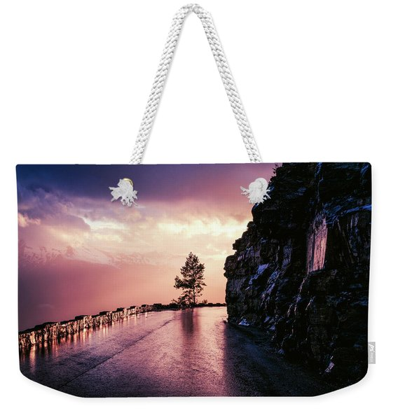 Going To The Sun Road Weekender Tote Bag