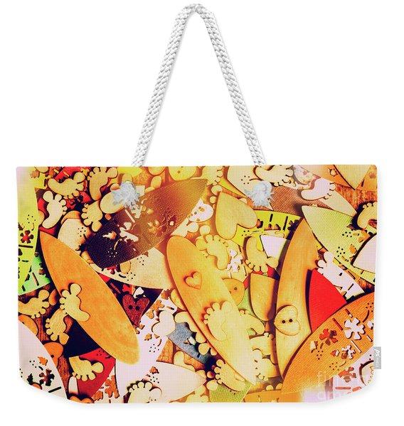 Gold Coast Weekender Tote Bag
