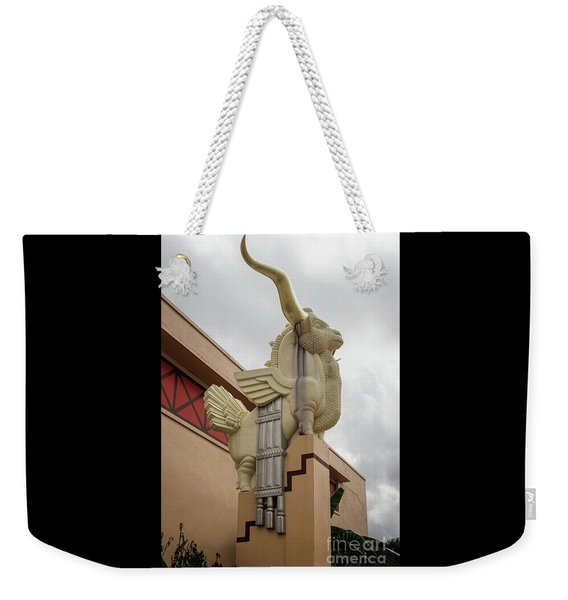 Gold Horn Chimera Weekender Tote Bag