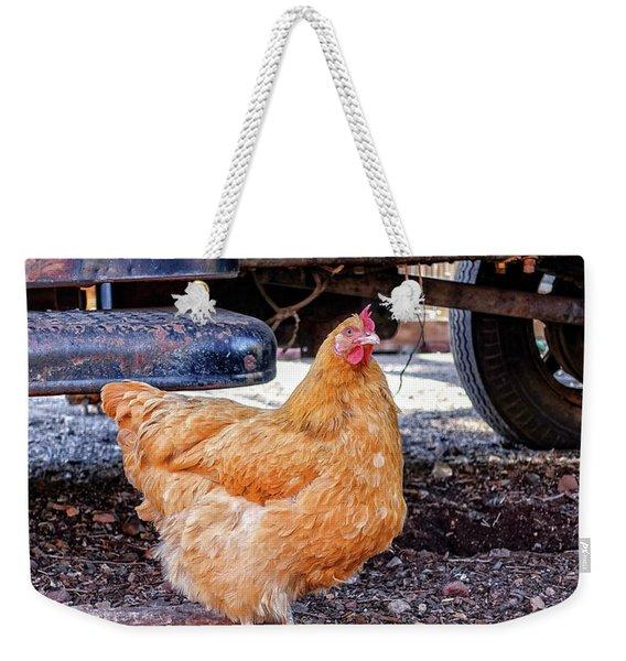 Gold King Mine Chicken Weekender Tote Bag