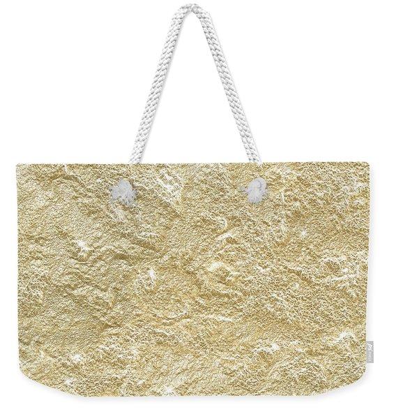 Gold Stone  Weekender Tote Bag