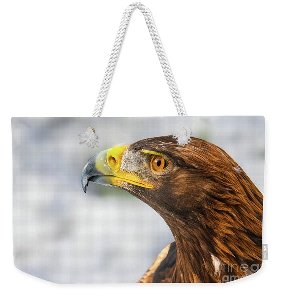 Golden Beauty Weekender Tote Bag