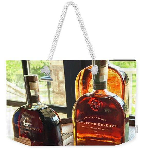Golden Bourbon 2 Weekender Tote Bag