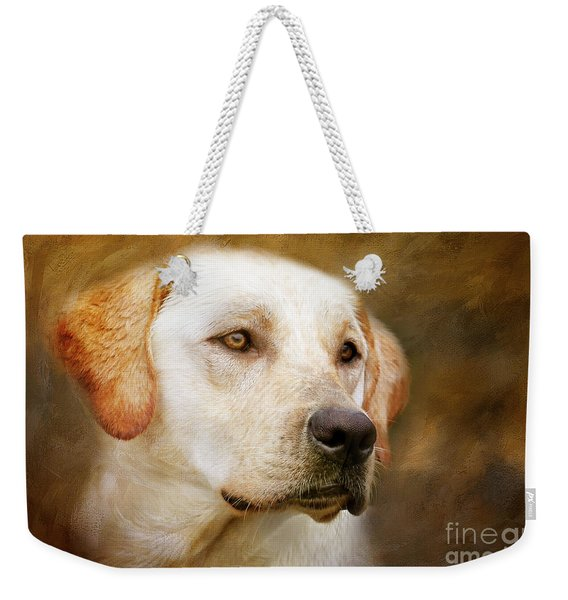 Golden Boy Weekender Tote Bag