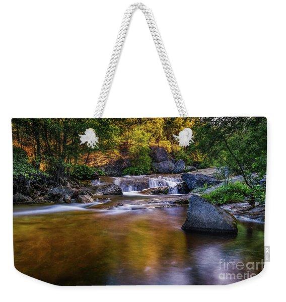 Golden Calm Weekender Tote Bag