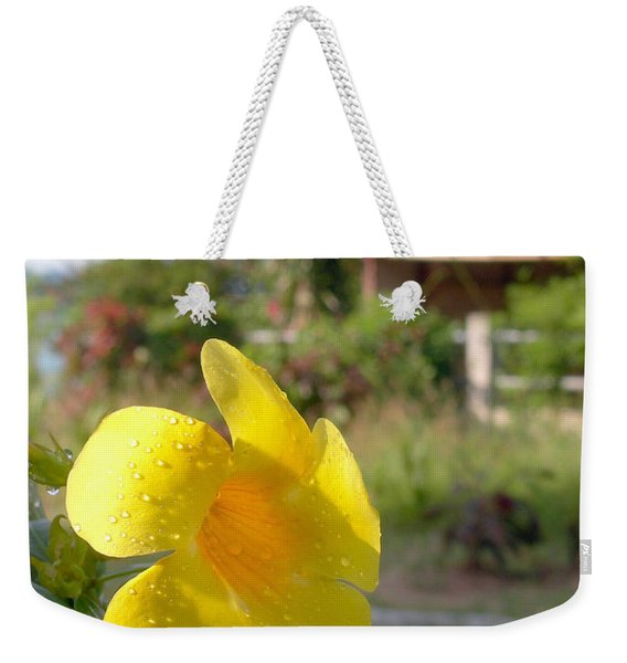Golden Dew Weekender Tote Bag