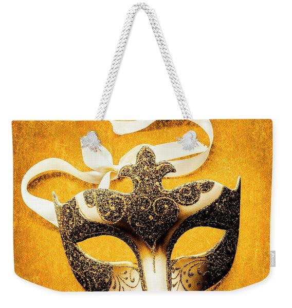 Golden Gala Weekender Tote Bag