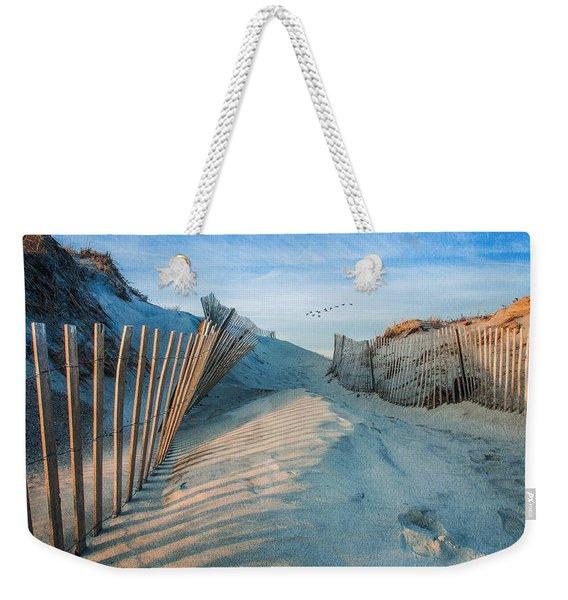 Golden Glow Dunes Weekender Tote Bag