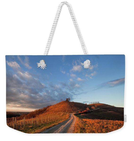 Golden Hill Weekender Tote Bag