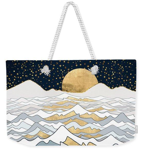 Golden Ocean Weekender Tote Bag