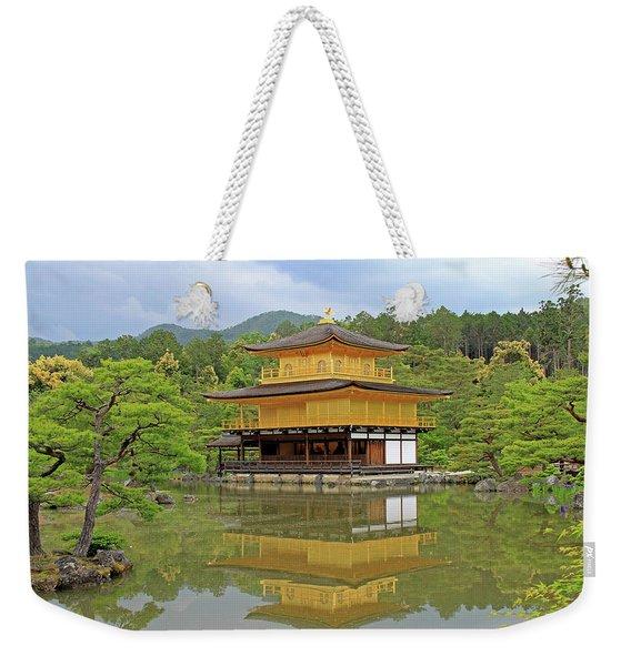 Golden Pavilion - Kyoto, Japan Weekender Tote Bag