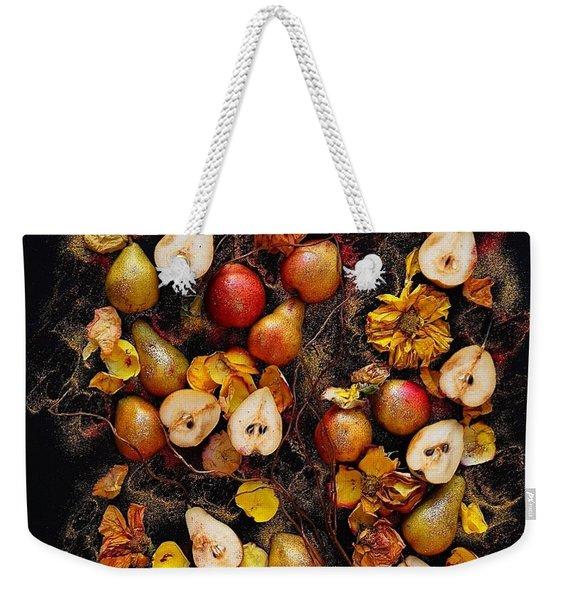 Golden Pear Tree Weekender Tote Bag