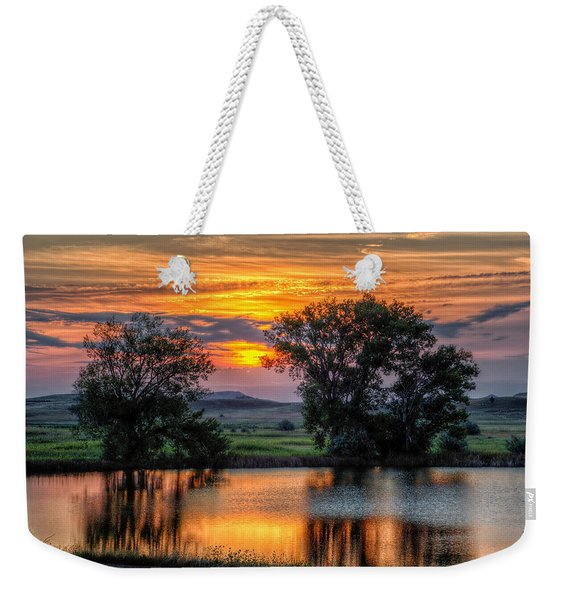 Golden Pond Weekender Tote Bag