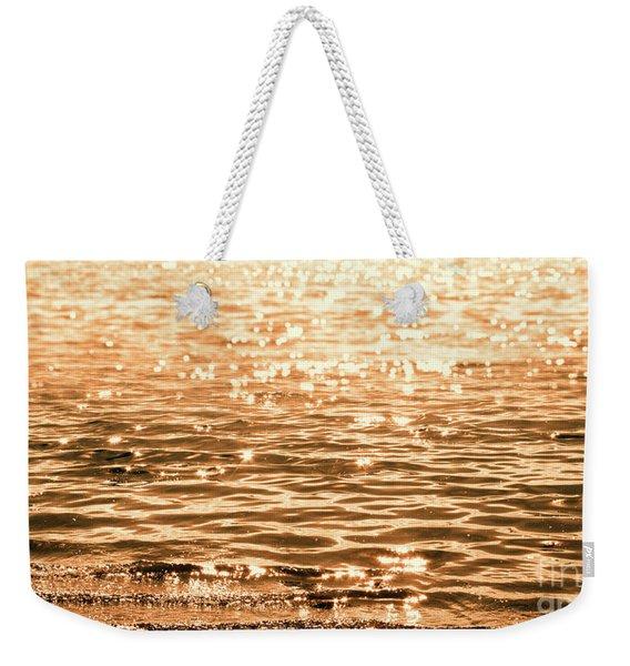 Golden Reflections Weekender Tote Bag