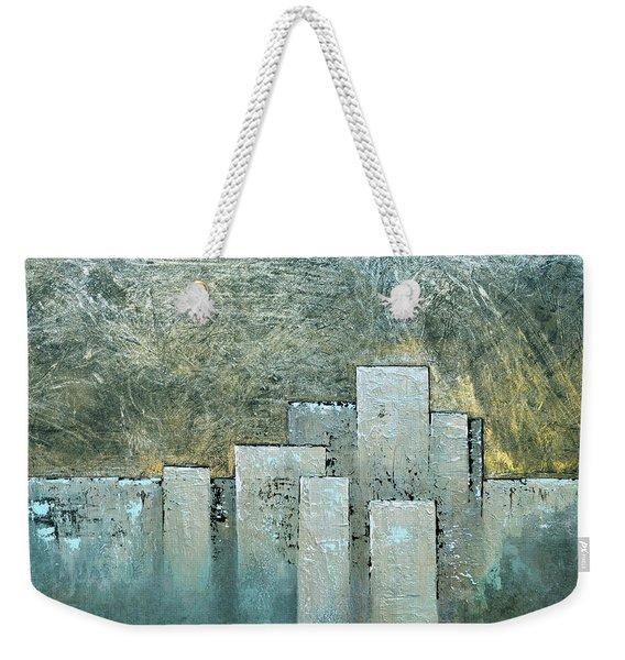 Golden Skyline II Weekender Tote Bag