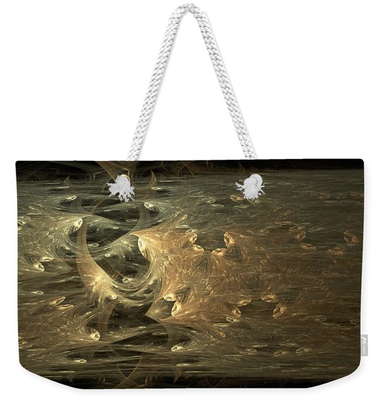 Golden Soul - Modern Abstract Art Weekender Tote Bag
