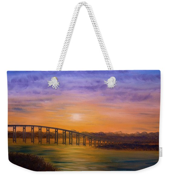 Golden Spirit Weekender Tote Bag