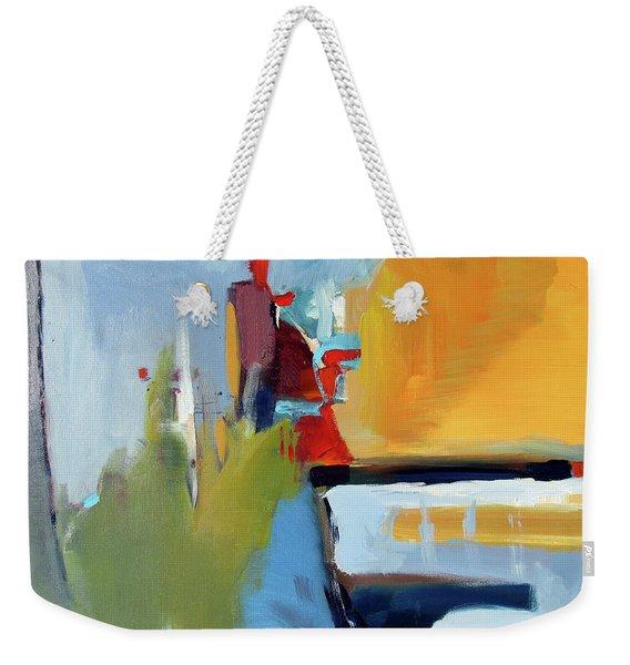 Golden Way Weekender Tote Bag