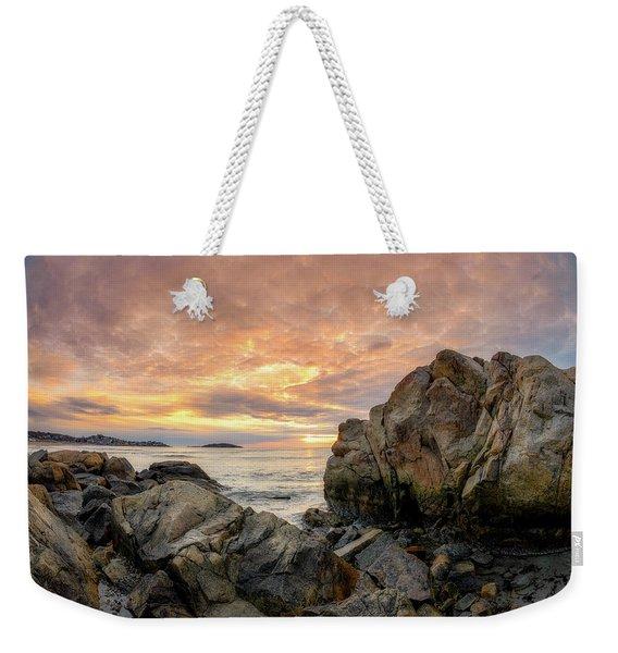 Good Harbor Rock View 1 Weekender Tote Bag