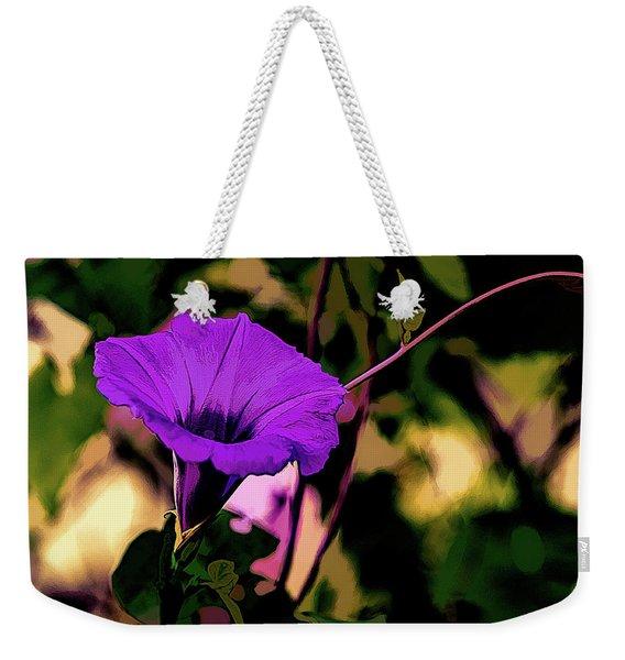 Good Morning Glory Weekender Tote Bag
