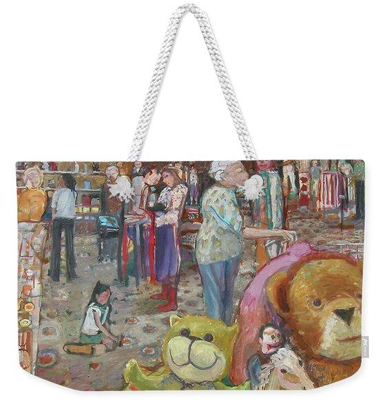 Good Will Weekender Tote Bag