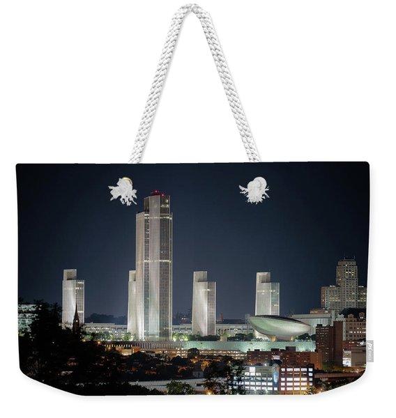 Goodnight Albany Weekender Tote Bag