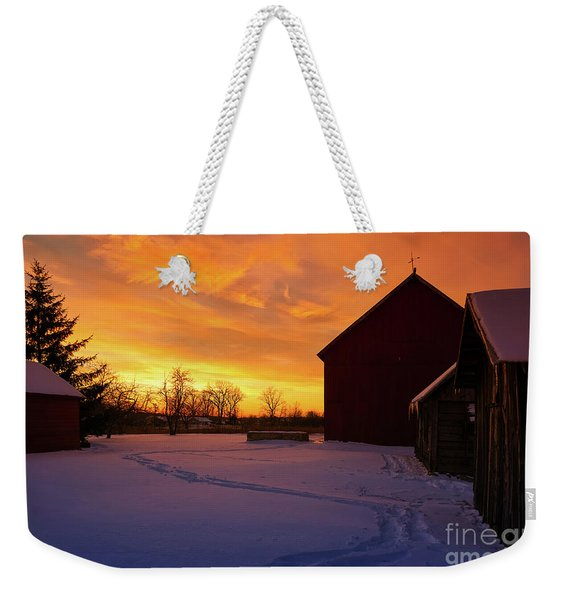 Goodnight Farm Weekender Tote Bag