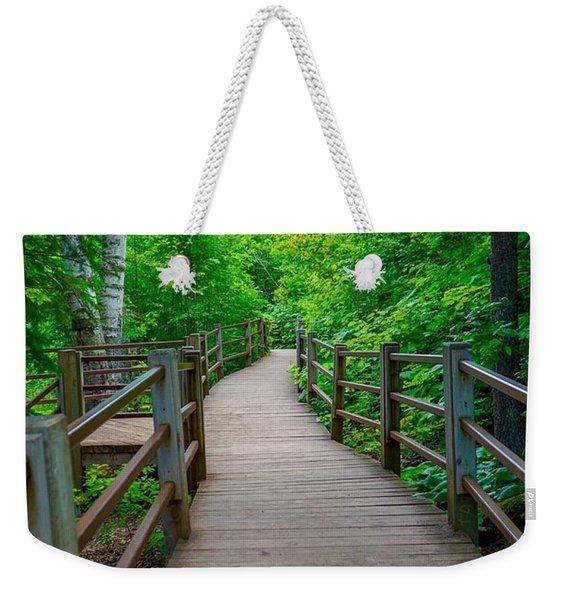 Gooseberry River Trail Weekender Tote Bag
