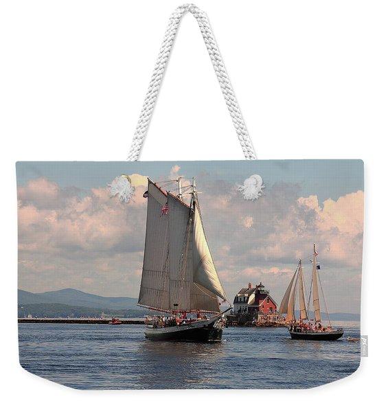 Grace Bailey Weekender Tote Bag
