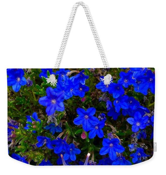 Grace In Blue Weekender Tote Bag