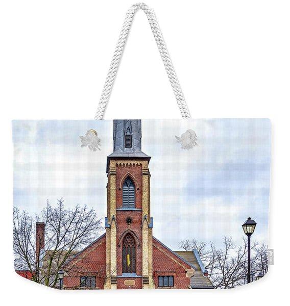Grace Methodist Church 1888 Weekender Tote Bag