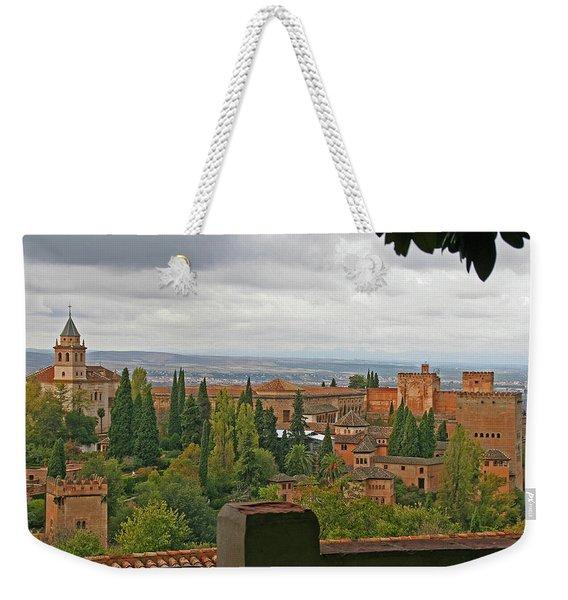 Granada, Spain - Alhambra Weekender Tote Bag
